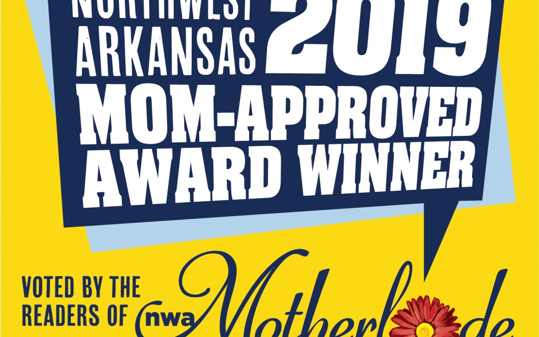 Northwest Arkansas 2019 Mom-Approved Award Winner